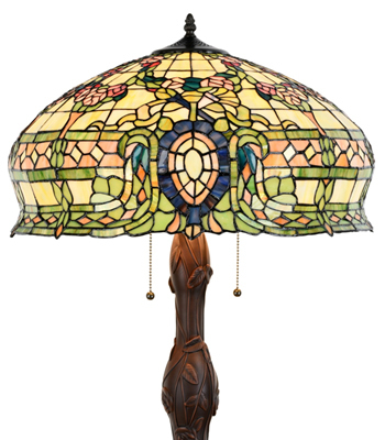 Tiffany Style Conservatory Table Lamp 15096  image 2