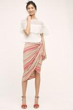 New Anthropologie Isala Wrap Skirt by Bailey 44 Small Petite Retail $118 - $39.60