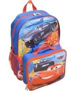 FACTUMEVENT Disney Cars Lightning McQueen Boys School Backpack - $15.04