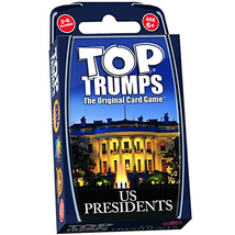 Us Presidents Top Trumps Card Game - $13.97