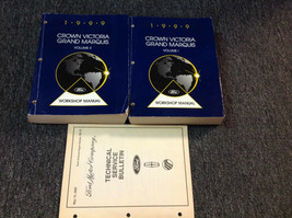 1999 OEM Ford Krone Victoria Mercury Grand Markis Service Shop Reparatur... - $98.99