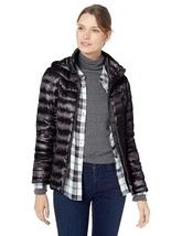 Calvin Klein Women's Short Packable with Tunnel Neck Collar and Hood, Side - $100.97+