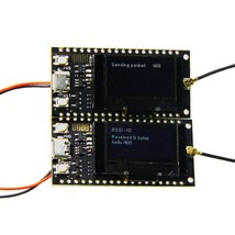 2Pcs Wemos TTGO LORA SX1278 ESP32 0.96 OLED Module 16 Mt Bytes (128 Mt b... - $44.60