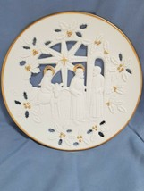 Lenox Fine Porcelain Christmas Collector Plate - 1995 No Room at the Inn  - $19.69