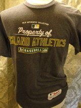 MLB Oakland Athletics gray T-shirt size small. Made by Majestic short sleeve. - $14.20