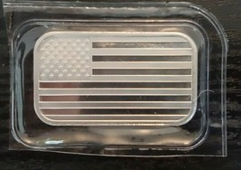 1 oz SilverTowne American Flag Silver Bar (New) - $41.00