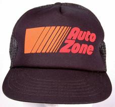 AUTO ZONE Hat-Black-Mesh-Snapback-Trucker Cap-Puff Letters-Auto Garage-C... - $16.79