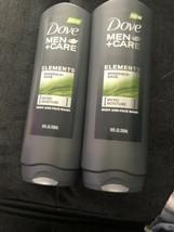 2 Dove Men+Care Elements Minerals & Sage Micro Moisture Face And Body Wa... - $18.69