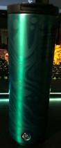 Starbucks Green Marble Swirl Insulated Stainless Steel Coffee Tumbler 16... - $22.94