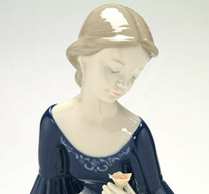 Nao By Lladro 02001704 Spring Reflections Porcelain Figurine Glased New - $173.25