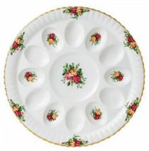 """Royal Albert Old Country Roses Deviled Egg Plate Platter 11.5"""" New IN BO... - $79.19"""