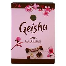 Fazer Geisha Dark Chocolates with Soft Hazelnut Filling Small Box 5.3 Oz... - $12.86