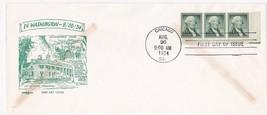 WASHINGTON 1C #1031 CHICAGO, IL 8/26/1954 PENT ARTS SET 1092 COVER #28 - $3.90