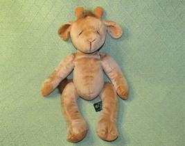 "16"" RUSS BERRIE GISELLA BEANBAG PLUSH FLOPPY STUFFED ANIMAL CORDY FEET H... - $8.17"