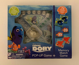 Disney Pixar Finding Dory Memory Match Pop-Up Board Game, New - $19.79