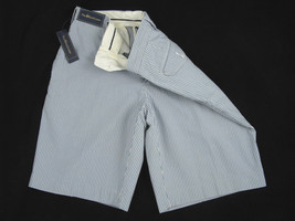 NEW Polo Ralph Lauren Seersucker Shorts!   Blue & Off White or Light Brown & Tan - $42.99