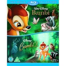 Bambi 1 & 2 Region Free Blu-ray Walt Disney Animated Cartoon Collection ... - $55.43