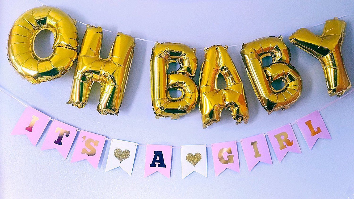 Baby Girl Shower decorations OH BABY It\'s A and 36 similar items