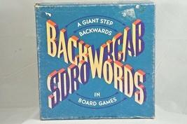 Backwords Board Game Random House Imagination Games 1988 Vintage & Complete USA - $14.03