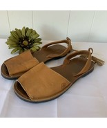 Morkas The Shoe Atelier Classic Avarcas Brown Leather Womens Sandals Sho... - $39.57