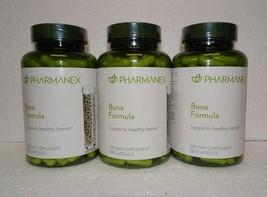 Three pack: Nu Skin Nuskin Pharmanex Bone Formula 180 Capsules Sealed x3 - $123.00