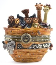 "Boyds Treasure Box ""Noah's Ark w/Drip McNibble"" #392111 -2E- NIB- Retired - $69.99"
