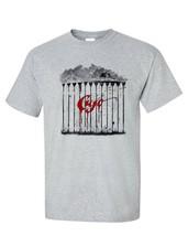 Cujo T-shirt retro 1980s classic horror movie Stephen King gray graphic tee image 2