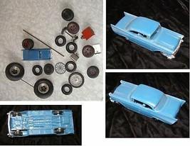 Vintage Toy Car & Tires & Parts Lot - $28.99