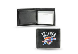 NBA Oklahoma City Thunder Embroidered Billfold / Wallet - $33.31