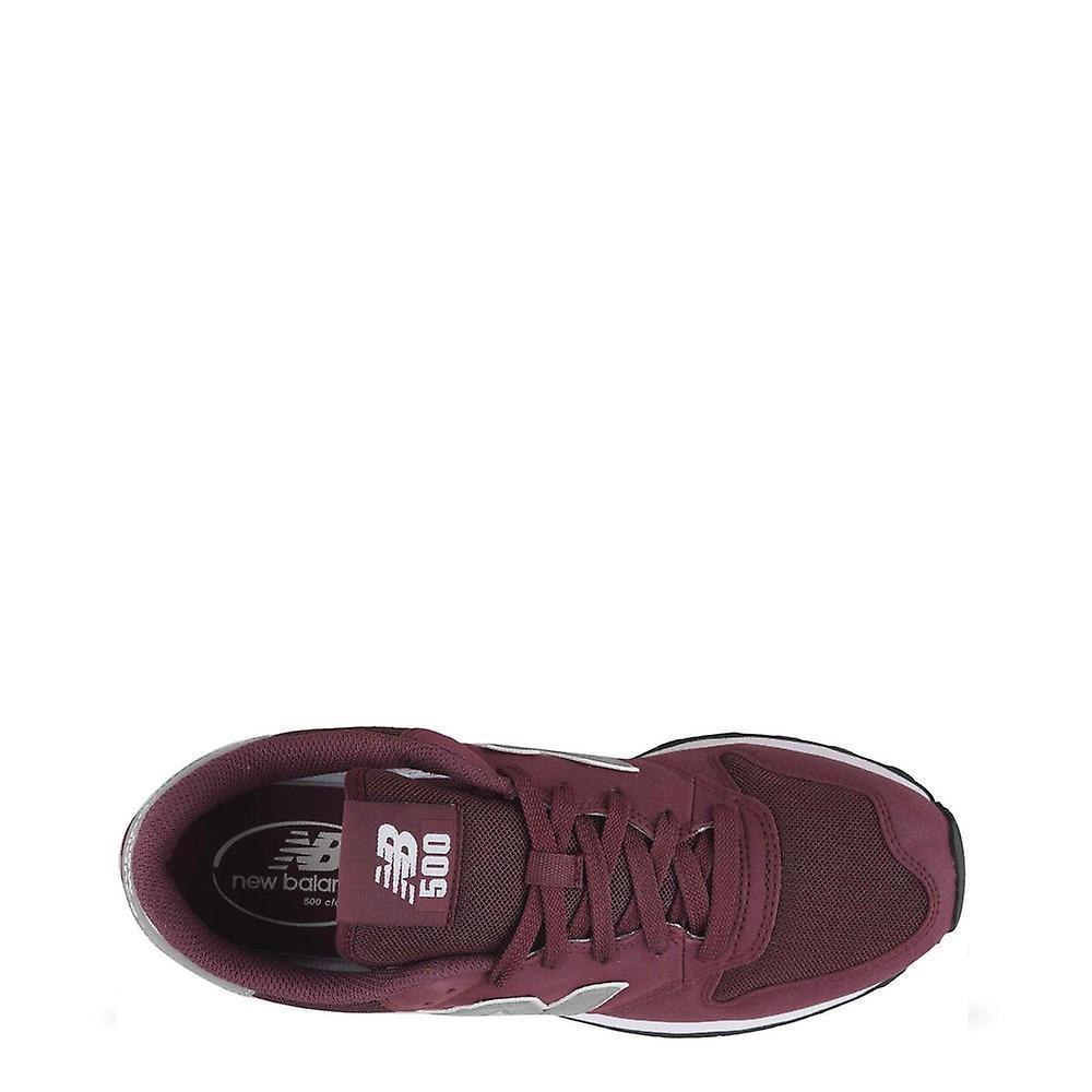 New Balance Mens 500 Trainers Burgundy