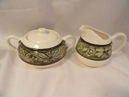 Blossom Ring Sugar & Creamer Stangl Pottery Flemington NJ - $4.99
