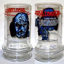 STAR TREK  LORD KRUGE Promo Glass Spock Lives Movie 1984 image 2