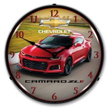 2017 Camaro ZL1 Lighted Wall Clock 14x14 Inches - $129.95