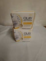 2 PACK Olay Daily Facial Nourishing Cleansing Cloths Tub Shea Butter 33 ct - $17.00