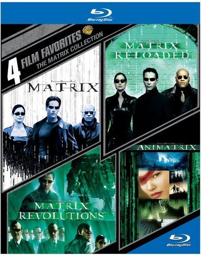 4 Film Favorites: The Matrix Collection [Blu-ray]
