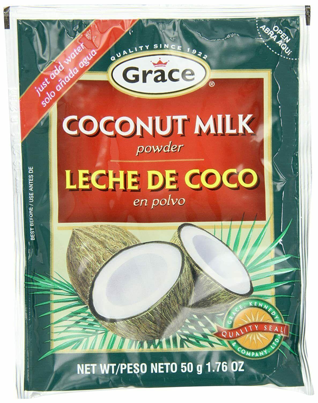 Grace Coconut Milk Powder Envelope, 1.76-Ounce (50g) (Pack of 12) - $39.59