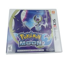 Pokemon Moon Nintendo 3DS 2016 Video Game Complete & Tested - $21.77