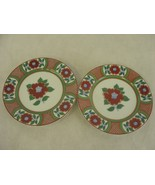 Fritz and Floyd Saucers Set of 2 Small Floral - $29.70