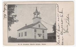 M E Church Athol Massachusetts 1908 postcard - $7.43