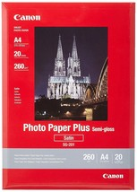 NEW!! Canon SG-201 Photo Paper Plus A4, 20 Sheets FREE UK DELIVERY!! - $25.39