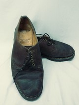 Doc Dr Martens Brown Leather Lace Up Oxfords Air Cushioned Size 9 England - $24.25