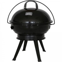"Portable Charcoal Barbecue Grill Camping Patio Backyard Compact 14.5"" Ke... - £24.85 GBP"