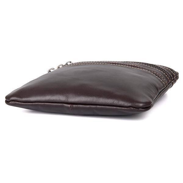 Sale, Vertical Messenger Bag, Vintage Leather Messenger Bag, Men Large Messenger image 4