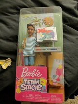 Barbie Team Stacie Friend of Stacie Doll Art Class Playset NIB Free Ship... - $14.84