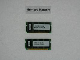 Mem-S1-128mb 128mb Approvato (2x64mb) Memoria per Cisco 6000/6500 - $34.63
