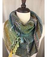 Handwoven Cowl from Rainbow Spring Warp - $90.00