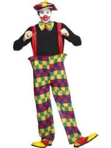 Con Cerchio Clown Costume, Big Top / Circo, Halloween, 107cm-112cm, Uomo - $27.23
