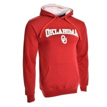 NEW SECTION 101 OKLAHOMA SOONERS Huddle Up Hoodie MAROON Small HOODED SW... - $34.99