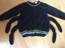 Black Velvet Itsy Bitsy Spider Halloween Costume Top Pottery Barn Kids 4-6 Kids - & Pottery Barn Costume: 14 listings