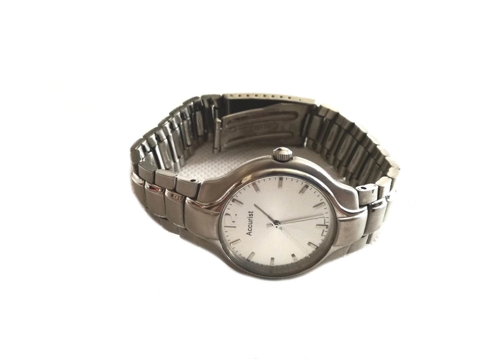 vintage watch / gift for him / vintage wrist watch / vintage  Accurist Watch / w image 5